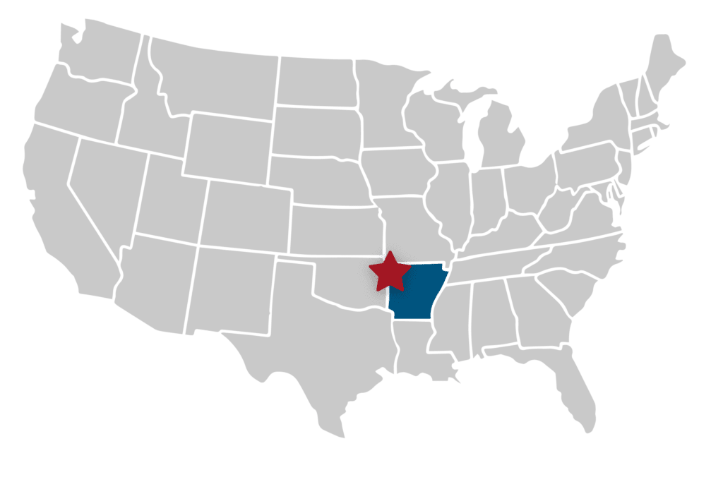 Our Pharma is Centrally Located in Fayetteville, Arkansas